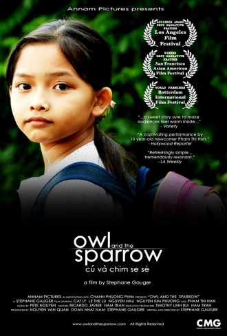 Owl and the Sparrow - POSTER